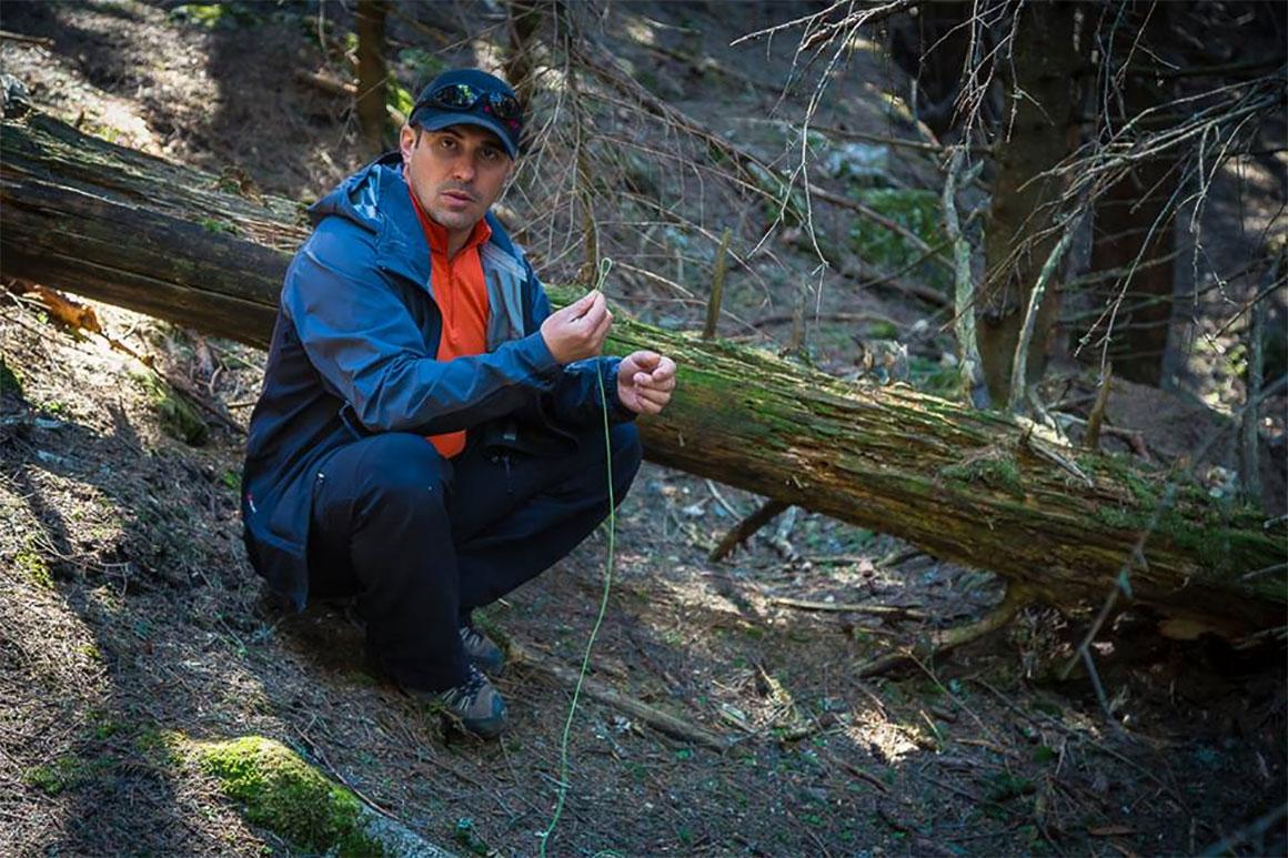 Survival Greenhorn (2) cu Daniel Pisica @ Masivul Iezer Papusa (zona cabanei Cuca), 2-3 Aprilie '16