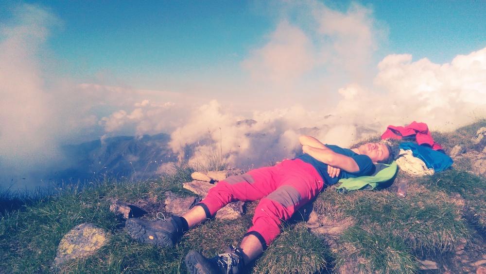 Creasta in Fagaras cu Adi Fako (expeditia Everest Romania), 8-10 August 2014